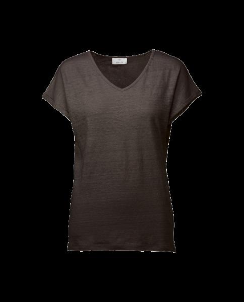 Allude V-Shirt grau