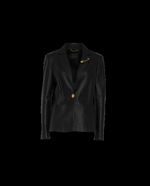Versace Leder-Blazer