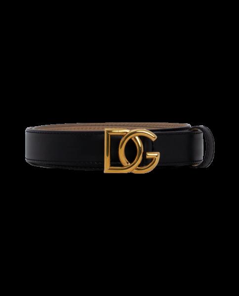Dolce & Gabbana Gürtel schwarz