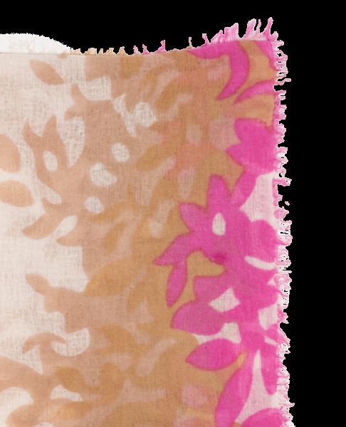 Hemisphere Tuch beige/pink