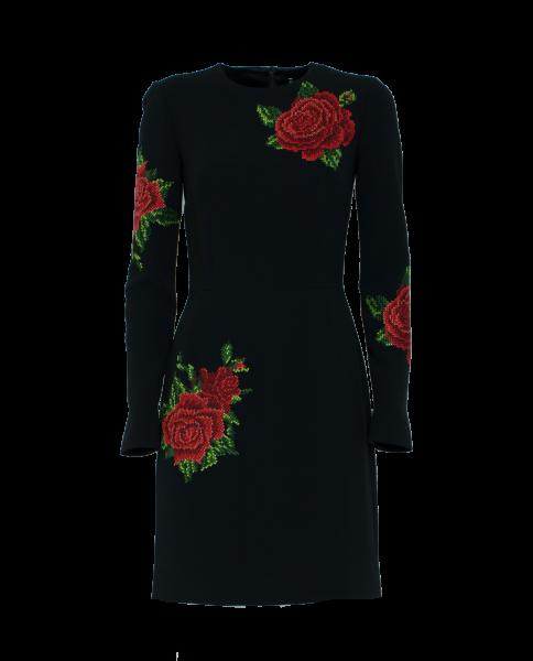 DOLCE & GABBANA Kleid mit Applikationen