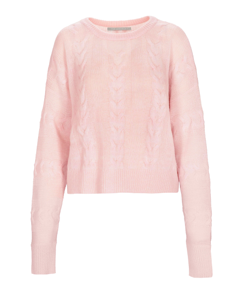THE MERCER N.Y. Cashmere Pullover Zopfmuster
