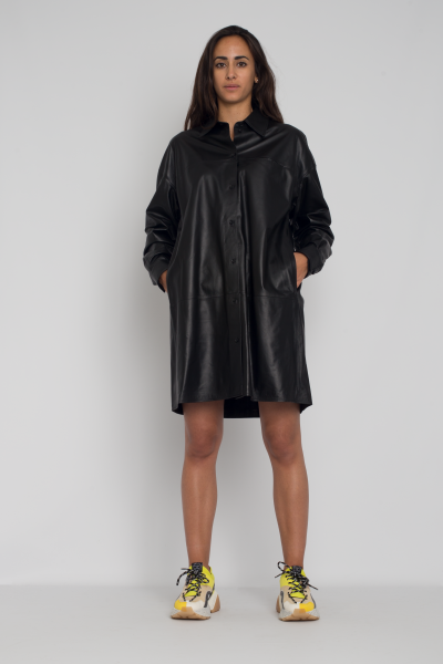 marcella-lamb-leather-dress-arma