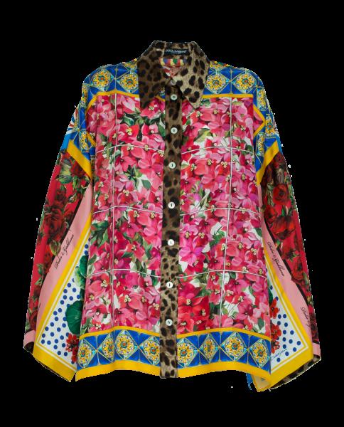 Dolce & Gabbana Patchwork Bluse