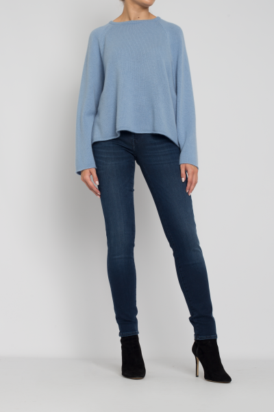 Allude roundneck sweater